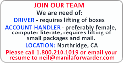 Manila Forwarder Ads