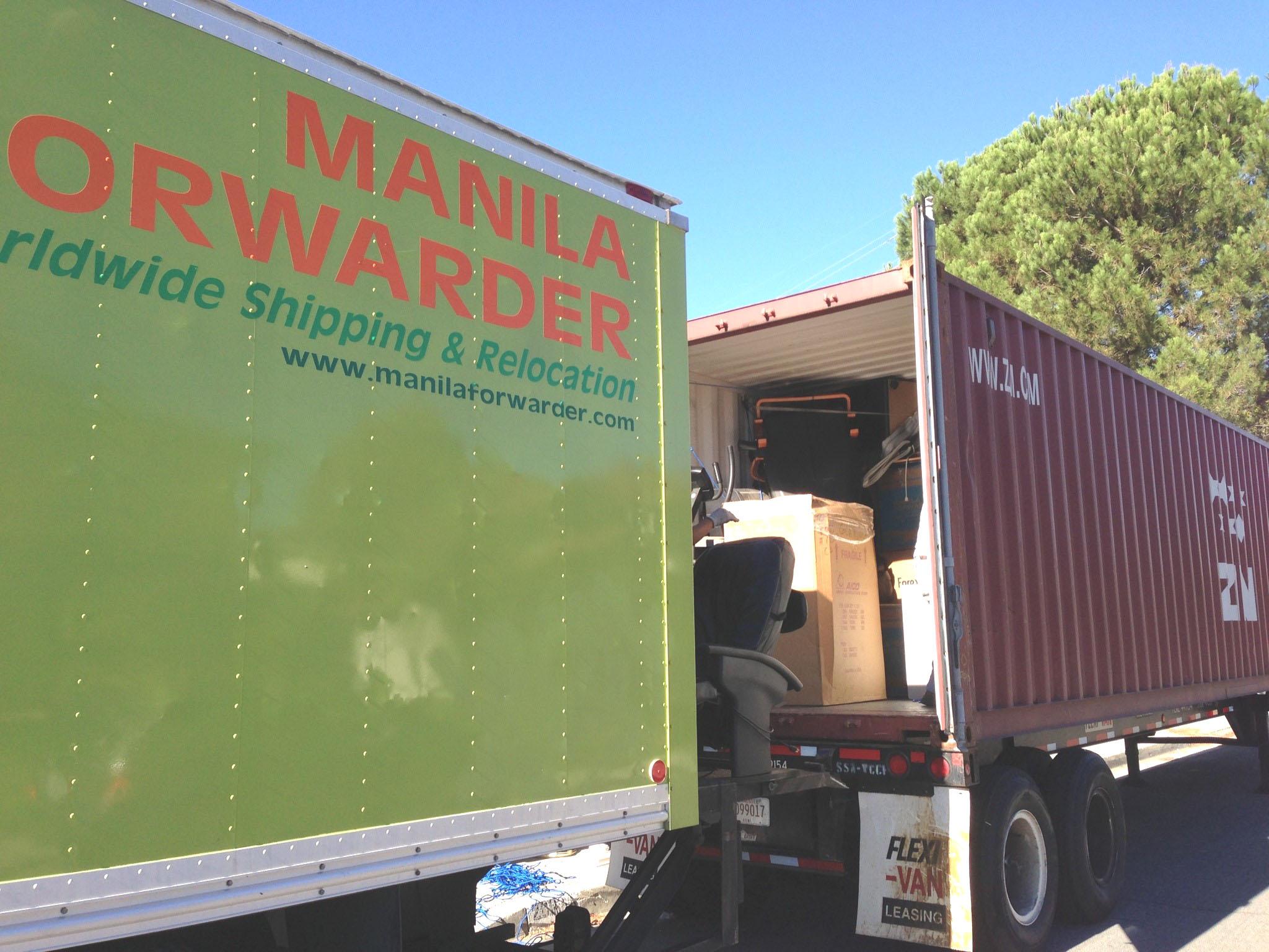 Manila Forwarde... Ups Freight Forwarder